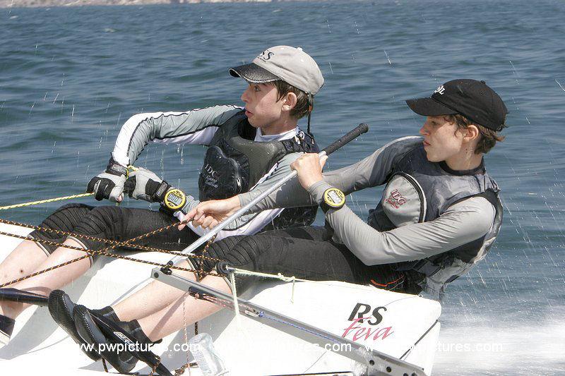 Sunsail RS Feva Worlds at Brenzone, Lake Garda