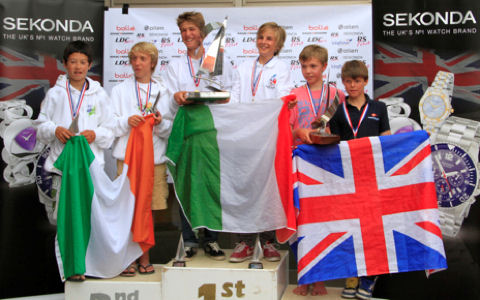 RS Feva World Championships at Hayling Island Sailing Club Overall
