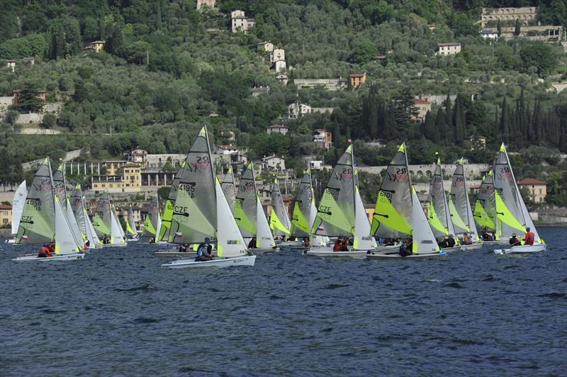 RS Feva European Championship at Gargnano, Lake Garda – Overall